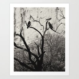 Thought & Memory Art Print