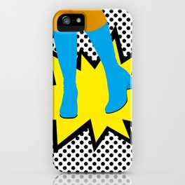 GIRLY BOOTS #3 iPhone Case