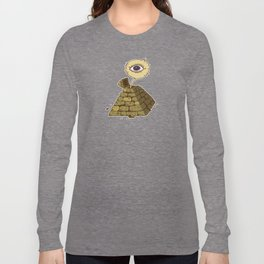 eye in the pyramid! Long Sleeve T-shirt