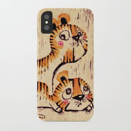 Two Little Tigers iPhone Case