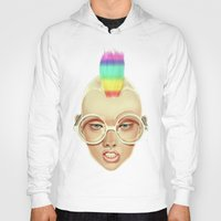rainbow Hoodies featuring Rainbow by Giulio Rossi