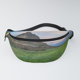 Scottsbluff - Landscape in Evening Light in Western Nebraska Fanny Pack