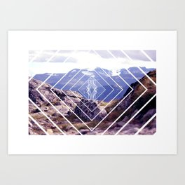 *MOUNTAIN MNR* Art Print