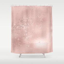 Rosegold Shower Curtain