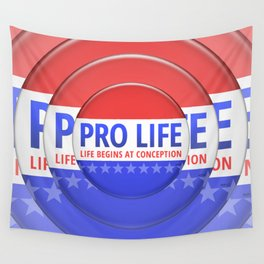 Pro Life Wall Tapestry