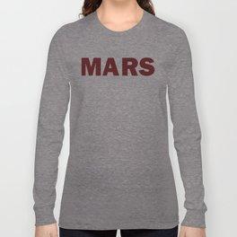 MARS Long Sleeve T-shirt