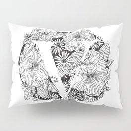 Flower V Pillow Sham
