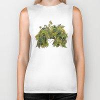 plants Biker Tanks featuring plants!! by ella