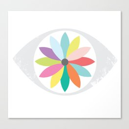 You are the flower of my eye Canvas Print