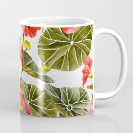 Nasturtiums watercolor Coffee Mug