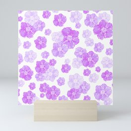 Lavender Blossoms Mini Art Print