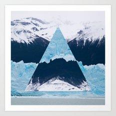 Glacier Two Art Print