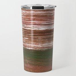 Van Dyke Brown abstract watercolor Travel Mug