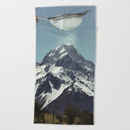 Sifted Summit Beach Towel