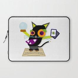 Halloween Black Cat Laptop Sleeve