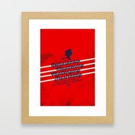 Kate Beckett (Castle) Framed Art Print