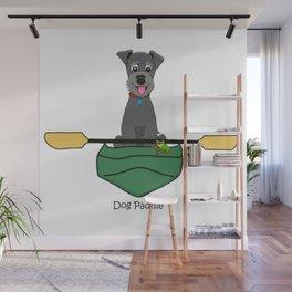 Dog Paddle Wall Mural