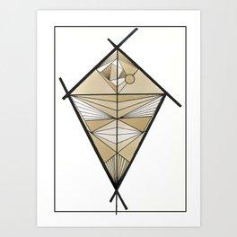 Tethered Art Print