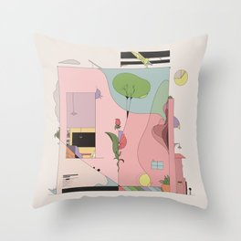 The Comfort of Your Home Throw Pillow