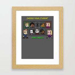 Kommunity Kombat Framed Art Print