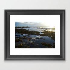 San Pedro at Low Tide Framed Art Print