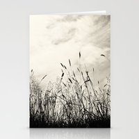 grass Stationery Cards featuring Grass by Angela Fanton