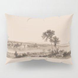 Lake Champlain 1850 (sepia) Pillow Sham