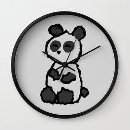 I am a panda. Wall Clock