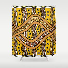 Moiety2 Shower Curtain