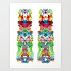 Double Happiness Art Print