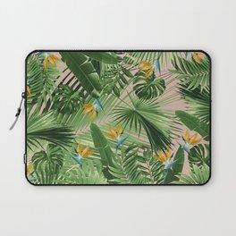 Bird of Paradise Jungle Leaves Dream #2 #tropical #decor #art #society6 Laptop Sleeve