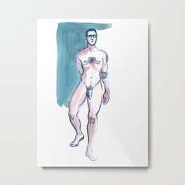 KEN, Nude Male by Frank-Joseph Metal Print
