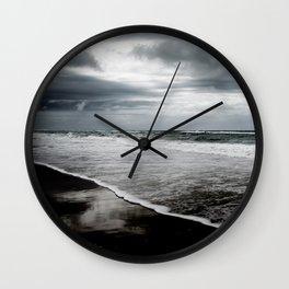 Dark Ocean Wall Clock