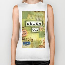 Shine on Biker Tank