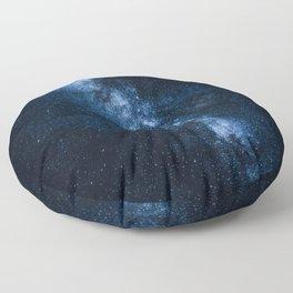 Cobalt Milky Way Floor Pillow
