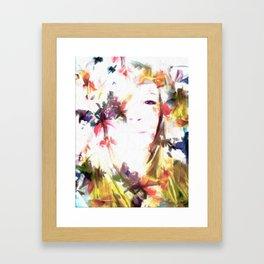 Seeing Through the Trees Framed Art Print