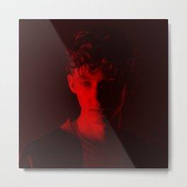 Troye Sivan - Celebrity (Florescent Color Technique) Metal Print