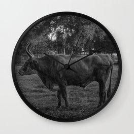Guard Bull Wall Clock