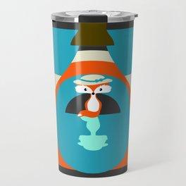 Cute fox reflection Travel Mug