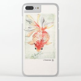 cherry candy Clear iPhone Case