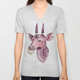 Young biche Unisex V-Neck