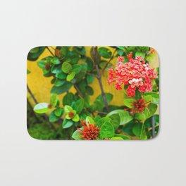Flower Wall Bath Mat