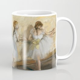 Edgar Degas - Dancers Practicing at the Barre Coffee Mug