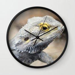 Thin Lizard Wall Clock