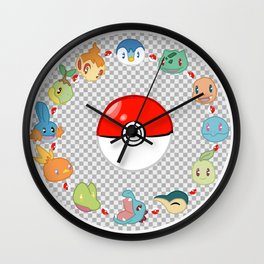 Starters Round Up Wall Clock