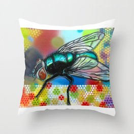 Fly 1 Throw Pillow
