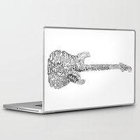 zappa Laptop & iPad Skins featuring Guitarists by agustín merello