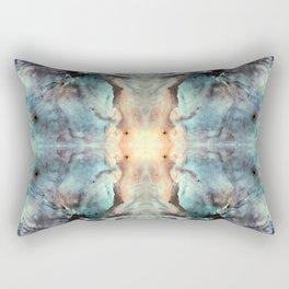 Space Mandala 11 Rectangular Pillow