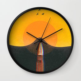 From the depths of the land Wall Clock