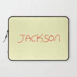first Name  6 Jackson Laptop Sleeve